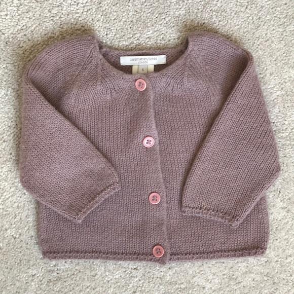 dc37601fdf2 Caramel Other - CARAMEL LONDON Baby Alpaca knitted cardigan